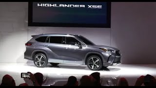 Toyota shows off its new 2021 Highlander XSE at Chicago Auto Show 2020