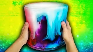 How To Make A Giant Avalanche Slime! Giant DIY Slime Challenge Recipe