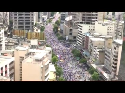 Over A Million People Protest In The Streets Of Venezuela!