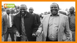 ODM deputy party leader Wycliffe Oparanya says meeting with DP Ruto was 'coincidental'