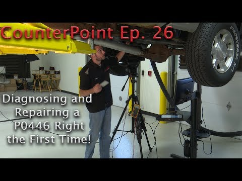 Wells CounterPoint Ep. 26 - P0446 Vent System Performance - Diagnose & Fix it Right the First Time!