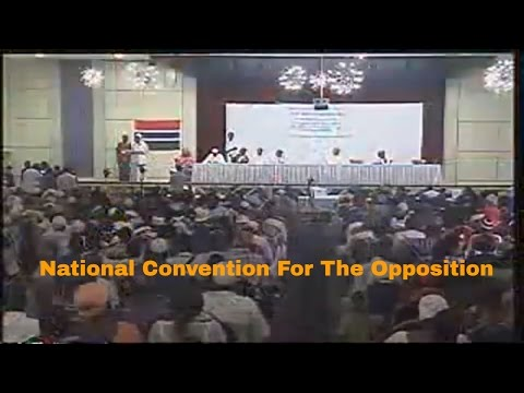 National Convention For The Selection of The Flag  Bearer for Opposition Coalition