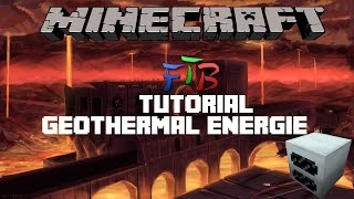 Minecraft FTB Tutorial II Geothermal- Energie (early & late Game) Deutsch
