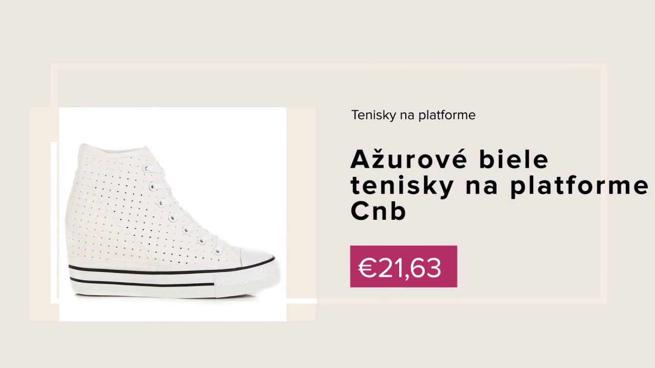 7e022e2a352b NAJ.SK - Nová kolekcia obuvi jar leto 2018 - YouTube