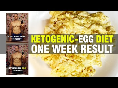 Ketogenic Egg Diet | 1 WEEK RESULTS - 19 POUNDS???!!!