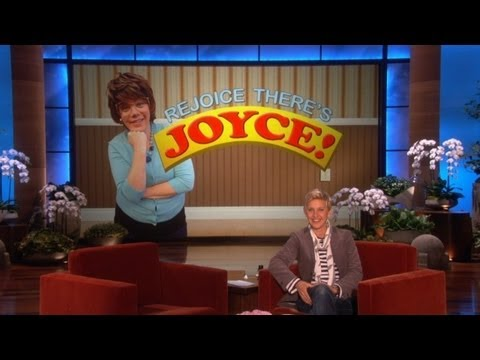 Rejoice! It's Joyce!
