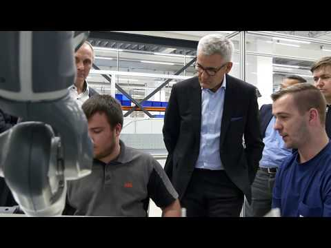 ABB's Berlin training center is developing skilled employees for the digital era