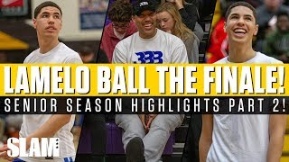 LaMelo Ball: The END of his High School Career! Senior Highlights Part 2 🔥