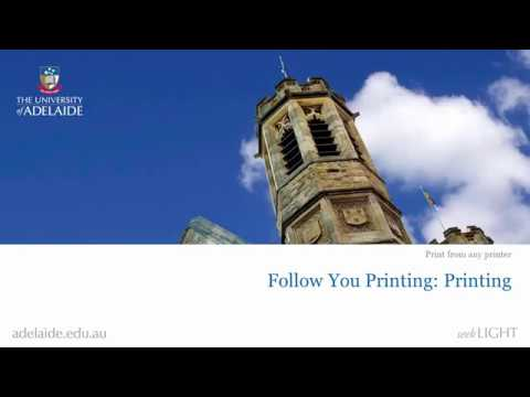 How to Follow-You print