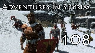 Adventures in Skyrim Lets Play! Part 108 (Falmer Cave)