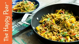 Singapore Noodles in 5 Minutes! | THE HAPPY PEAR