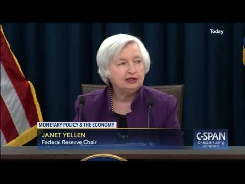 Federal Reserve Chair Janet Yellen News Conference