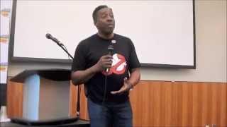 Ernie Hudson's Q&A from Niagara Falls Comic Con