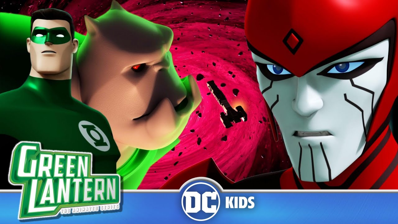 Green Lantern: The Animated Series | The Dream Team Is Born | @DC Kids