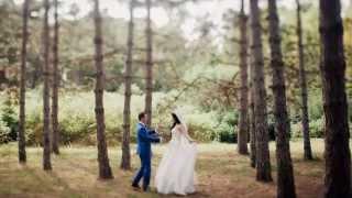 Свадебный фото слайд Коли и Олеси 14.09.2014
