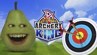 pear plays archery king