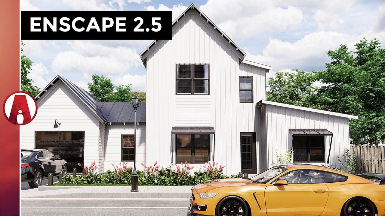 Enscape 2 5 New Features