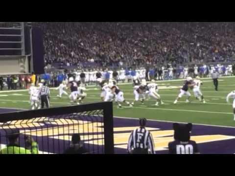 Cyler Miles Washington Huskies touchdown
