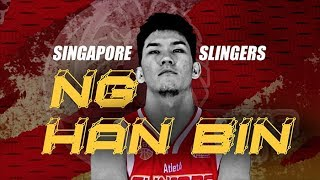 Ng Han Bin (Singapore Slingers) ABL Highlights / ASEAN Basketball League