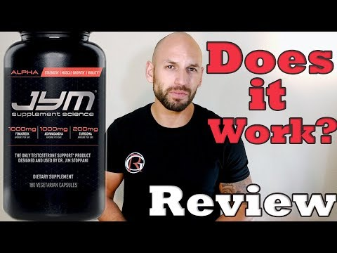 Jym Supplement Science: Alpha JYM | Testosterone Booster Review