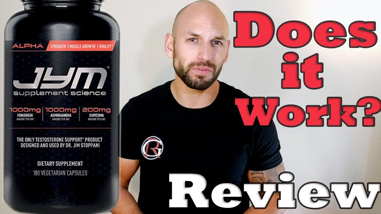 Jym Supplement Science Alpha Jym Testosterone Booster Review