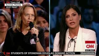 Who is NRA spokeswoman Dana Loesch?