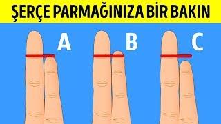 Parmaklarınızın Şekli Kişiliğinizi ve Sağlık Risklerinizi Belirliyor
