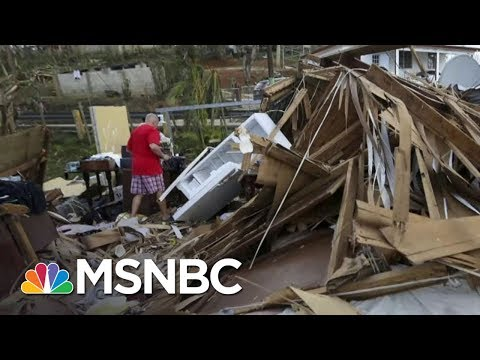 Puerto Rico Aid Hits Snag In Air Conditioned Convention Center | Rachel Maddow | MSNBC