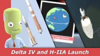 Delta IV and H-IIA launch | kNews W.11/2017