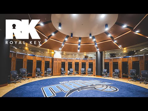 We Toured The ORLANDO MAGIC's $480 MILLION Amway Center Facility | Royal Key | Coiski