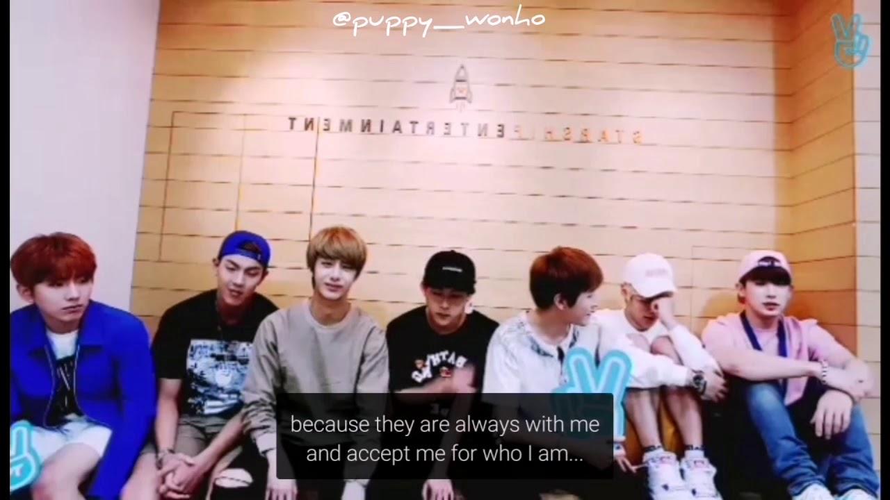 MONSTA X members making fun of Wonho's emotional personality/softness