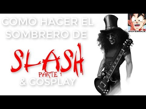 Como hacer el sombrero de Slash parte 1 - Difesoca FX - YouTube 93668708297