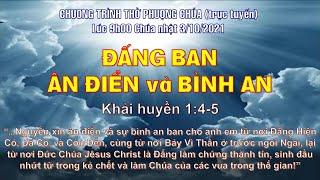 HTTL THÀNH LỢI - Chương Trình Thờ Phượng Chúa - 03/10/2021