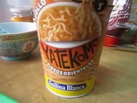 Fideos orientales yatekomo comida rapida youtube - Comodas orientales ...