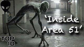 Top 10 Scary Alien Urban Legends