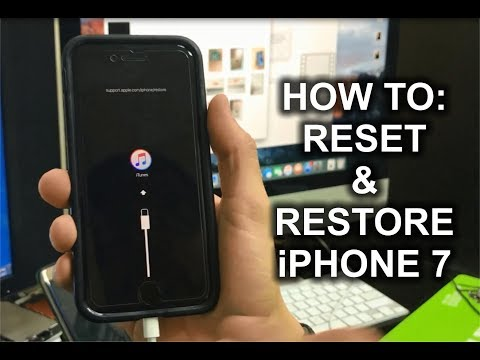 How to factory reset your iphone 7