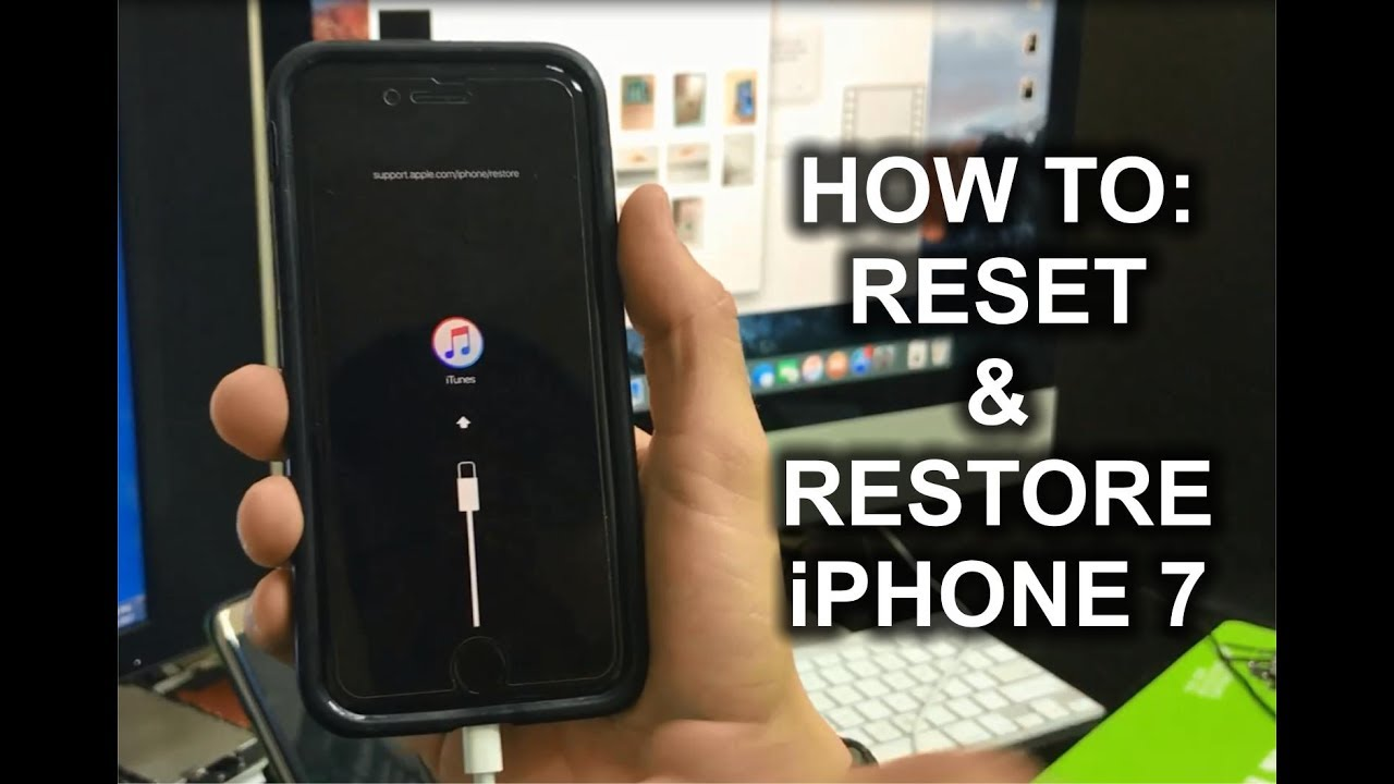how to do hard reset on iphone how to reset amp restore your apple iphone 7 factory reset 9426
