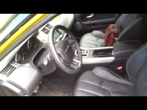 Range Rover Evoque interior review - кожаный салон, багажник
