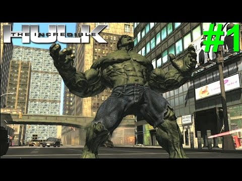 The Incredible Hulk(08) PS3 Gameplay #1 [Puny Military Forces]