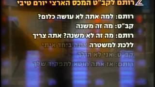 מותו של סוכן רשות המסים -ערוץ2 אולפן שישי 26/1/07