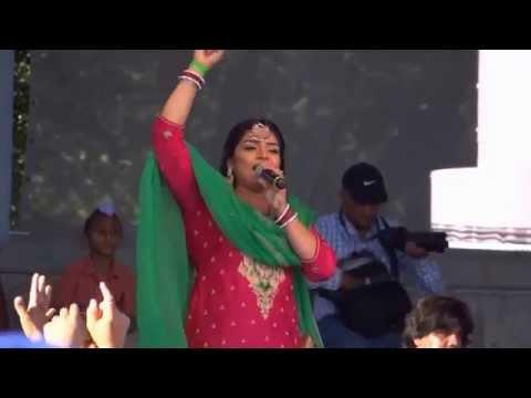 MERE PIND DE GERHE | Rupinder Handa | Winnipeg Live HD | Punjab Day Mela 2015