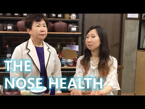 The NOSE HEALTH! Bloodletting, herbal nose spray and acupuncture! (비염 에피소드)