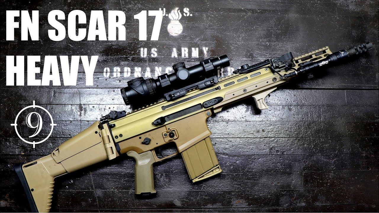 fn scar 17 heavy mk17 review with a green beret and chris bartocci