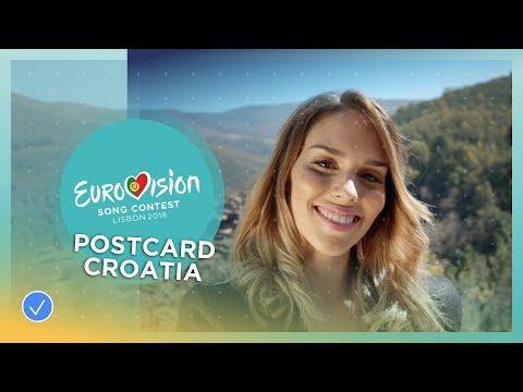 Postcard of Franka from Croatia - Eurovision 2018