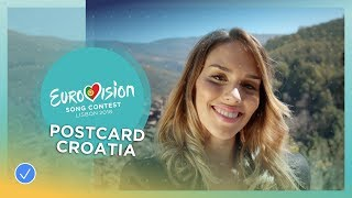 Postcard of Franka from Croatia - Eurovision 2018