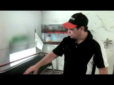 How To Prep Aftermarket Parts Before Spraying Paint And Test If Strippig To Metal Is Needed