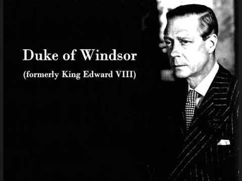 Duke of Windsor (Edward VIII) on Winston Churchill