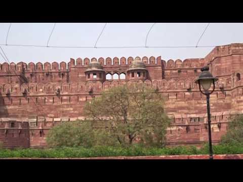 アキーラさん訪問②インド・アーグラ・アーグラー城!Agra-fort,Agra,India