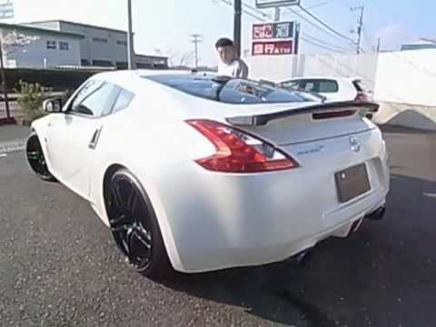 MINE'S 370Z REVVING!