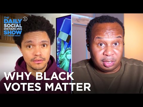 Why Are Black Men More Likely to Support Trump Than Black Women?   The Daily Social Distancing Show